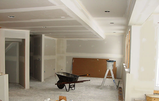 Why drywall a basement ceiling