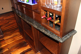 Individual bottle storage home pub