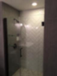 Custom tile shower Medina Ohio