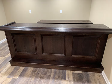 Simple 8 foot front bar