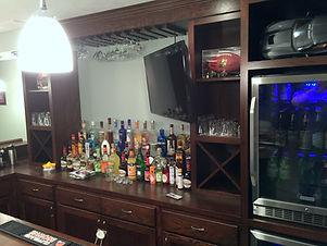 Display options for home back bar
