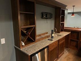 Bulk wine storage home pub