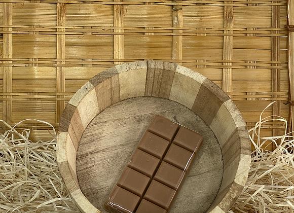 Savon tablette de chocolat praliné
