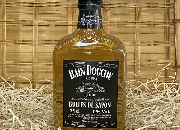 Bain douche bouteille de Whisky verveine