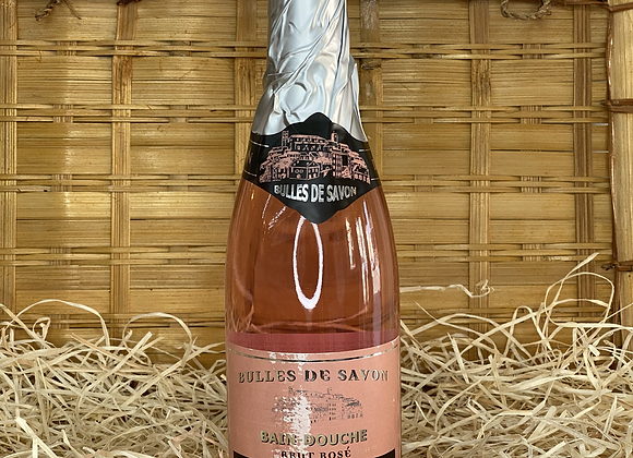 Bain douche bouteille de Champagne Rosé