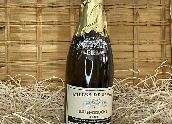 Bain douche bouteille de Champagne Brut