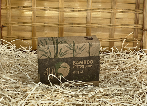 Coton tige en Bambou