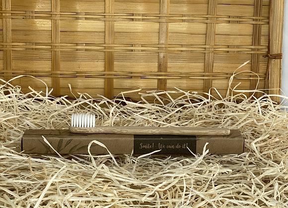 Brosse à dents souple en Bambou enfant