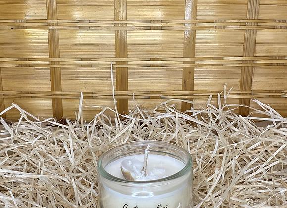 Bougie pot recyclé Noix de coco