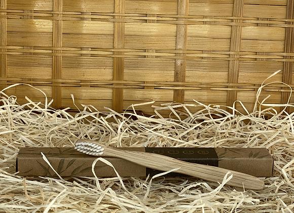 Brosse à dents souple en Bambou