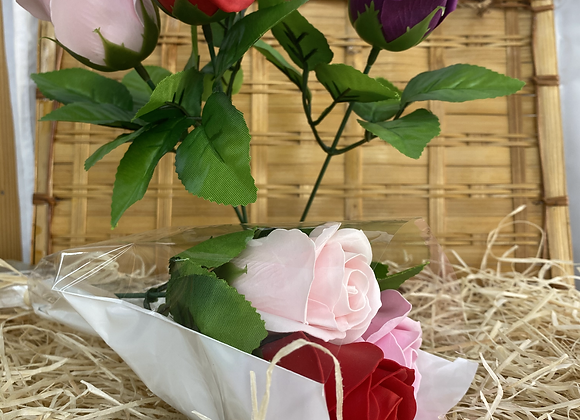 Rose de savon