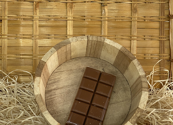 Savon tablette de chocolat au lait