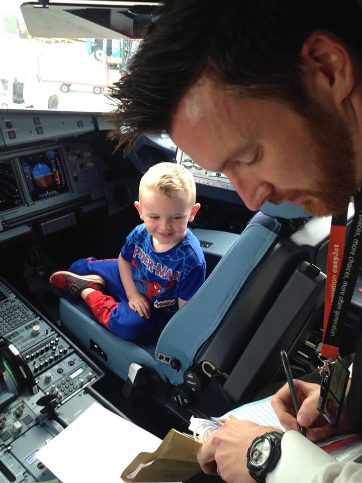 Finn with the Pilot