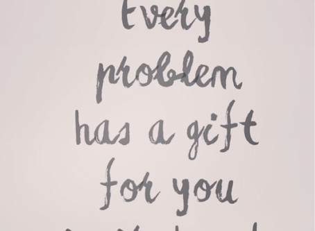 A problem or a gift?