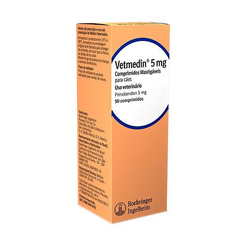 Vetmedin 5mg - 50 comprimidos