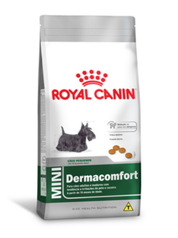 Ração Royal Canin Mini Dermaconfort 1kg