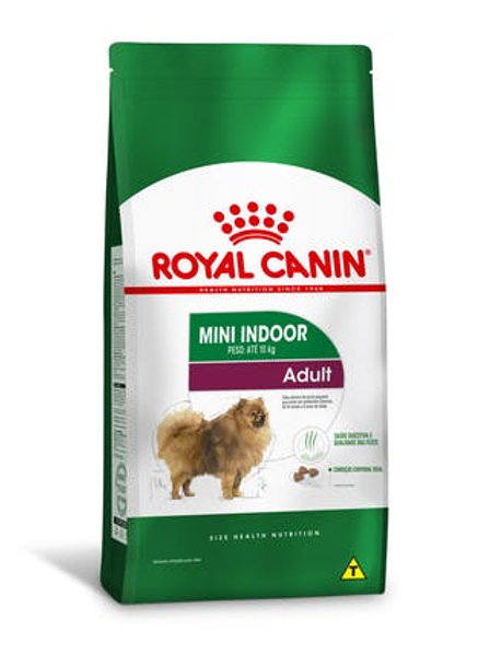 Ração Royal Canin Mini Indoor Adulto 1kg