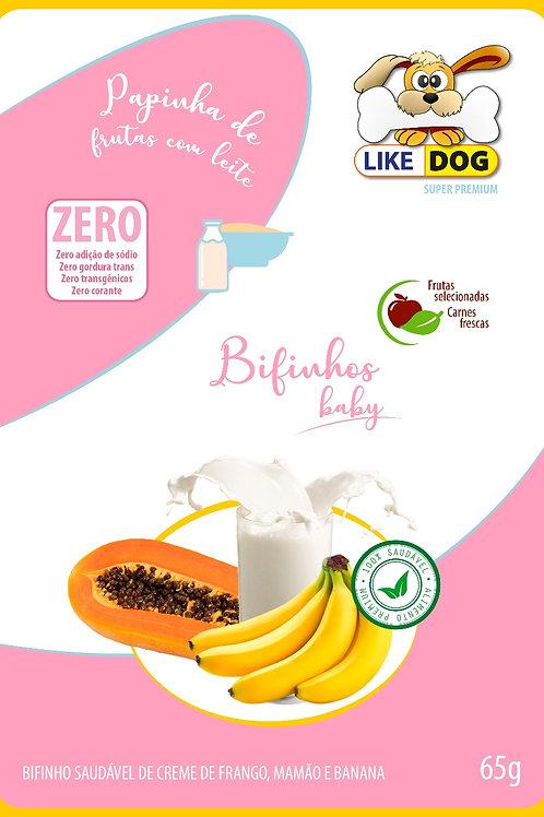 Suplemento em Bifinho Like Dog Baby - 65 g