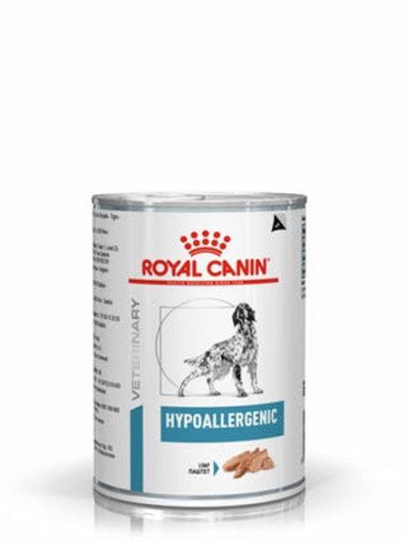 Ração Royal Canin Hypoallergenic Canine Alimento Úmido (lata)