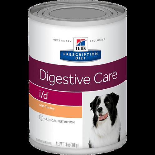 Ração Hill's™ Prescription Diet™ i/d™ Canine – Cuidado Digestivo - lata