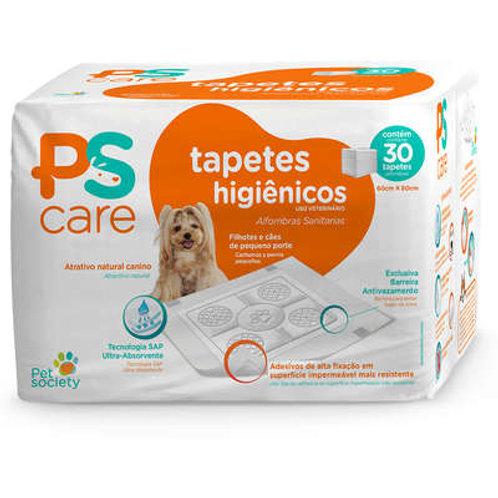 Tapetes Higiênico Pet Society PS Care para Cães de Raças Pequenas ou Filhotes