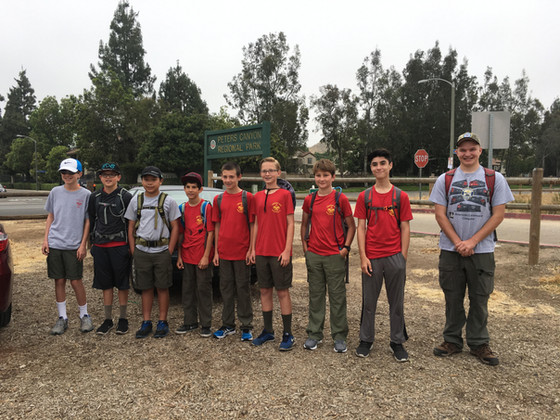 20-Mile Day Hike 2017