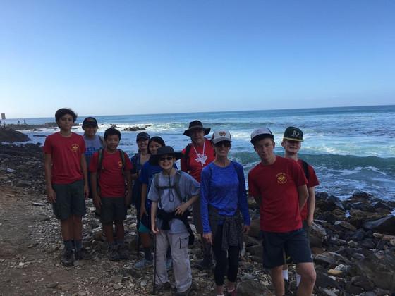 Sacred Cove Hike 2017