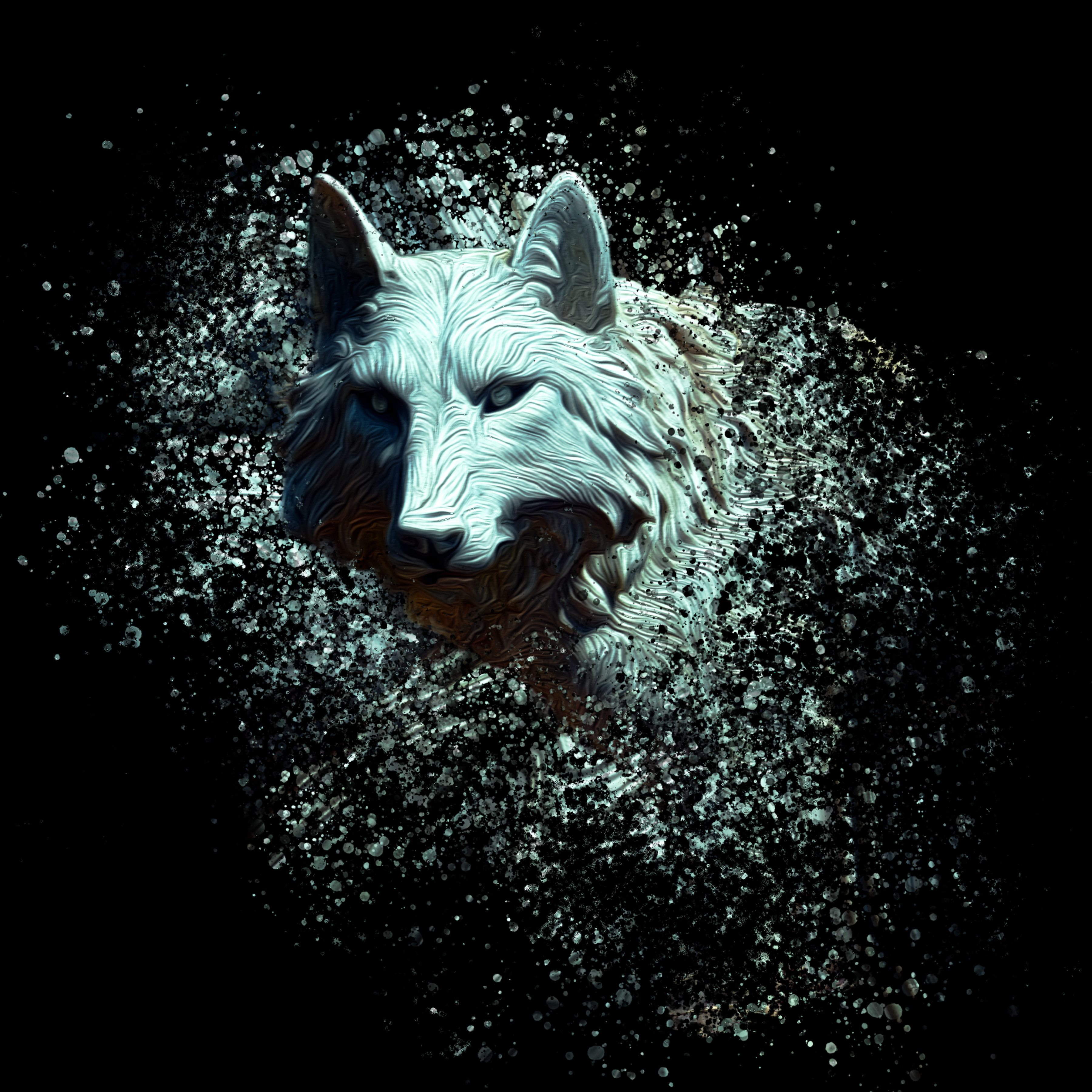 Of the white wolf