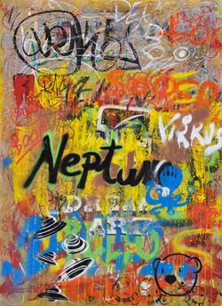 50x70 canvas graffiti