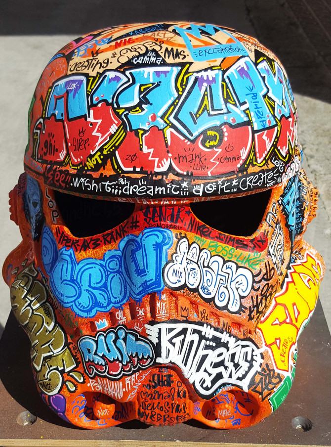 Trooper graffiti