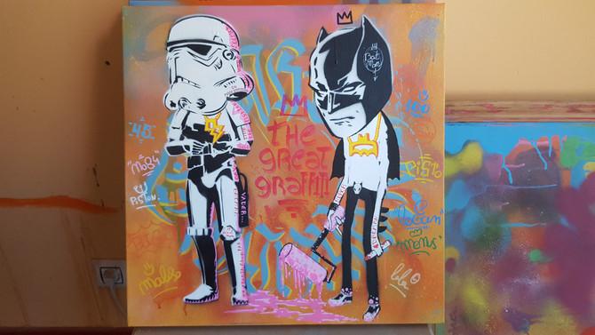 The great graffiti 50x50