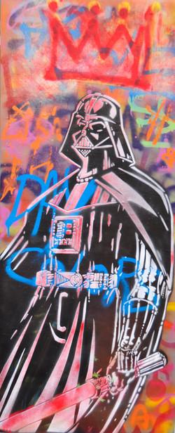 51x120cm canvas graffiti