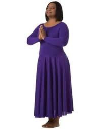 Long Sleeve Dance Dress - 4XL - Bodywrappers