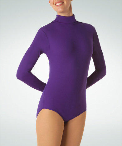 Long Sleeve Turlteneck Leotard - Adult - Bodywrappers