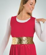 Sequin Cummerbund - Body Wrappers