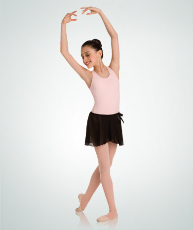 Mock Wrap-Around Dance Skirt - Body Wrappers - Child