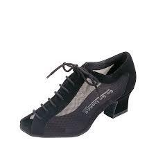 Black Mesh Character Shoe - Go Go Dance