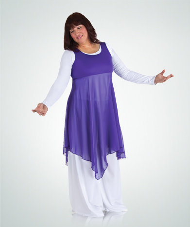 Pullover Tunic - Plus Size - Bodywrappers