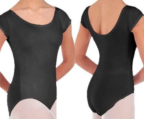 Prowear Cap Sleeve Ballet Cut Leotard - Girls