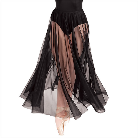 Long Full Chiffon Skirt - Body Wrappers - 538
