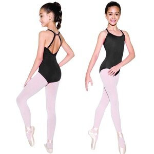 Camisole Leotard with Rhinestones - So Danca