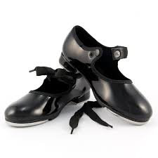 Black Tap Patent Leather Shoe - So Danca - TA35