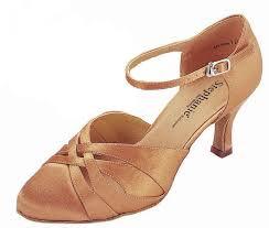 Dark Tan Satin - Stephanie Dance Shoes