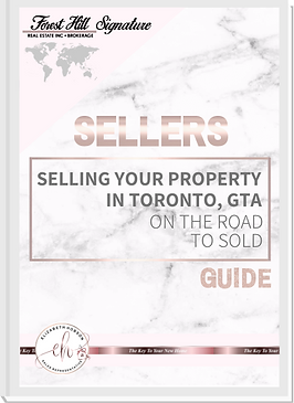 Selling your property in Toronto, GTA On the road to sold, Sellers Guide crafted by Elizabeth Hobson Real Estate Sales Representative -The Key To Your New Home, Powered By Forest Hill Real Estate Inc. Brokerage, Signature