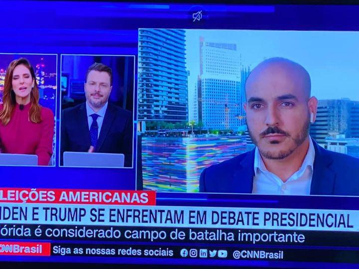 Estreiando no Expresso CNN com Monalisa
