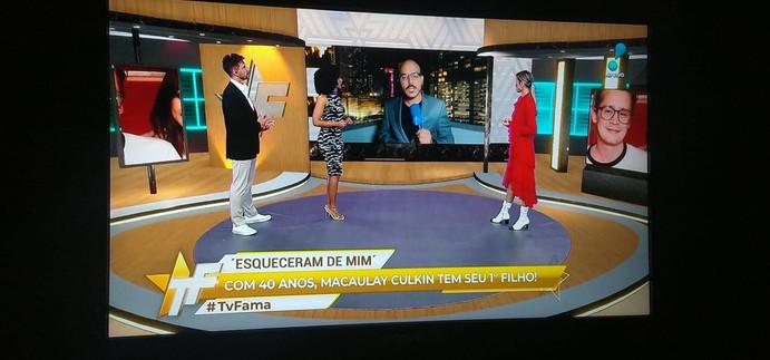 Participação no TV Fama da RedeTV!