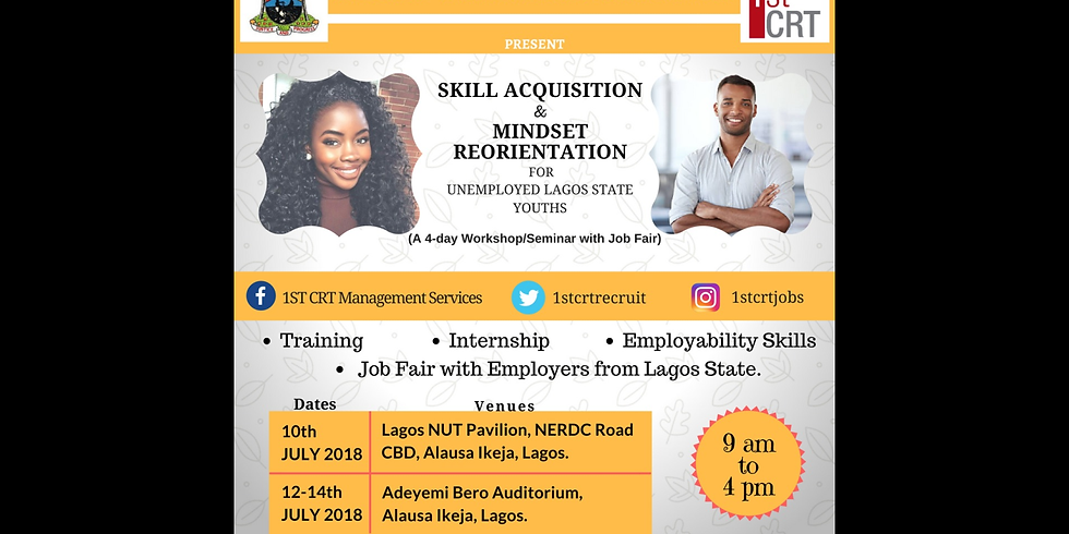 LASG Mindset Reorientation Programme for Unemployed Youth (Day 2-4)
