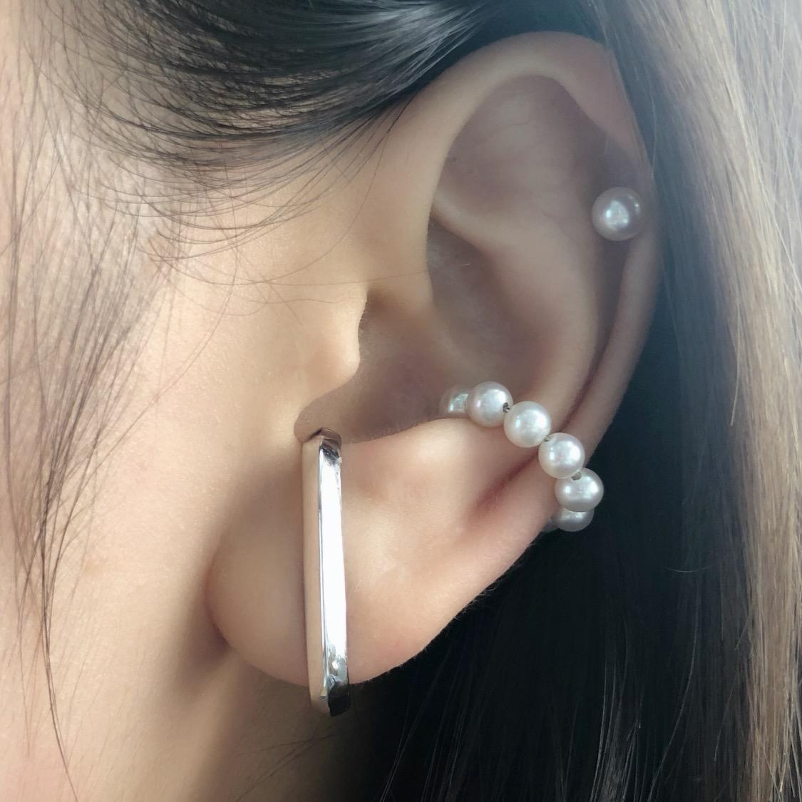 Harper Pearl Ear Cuff