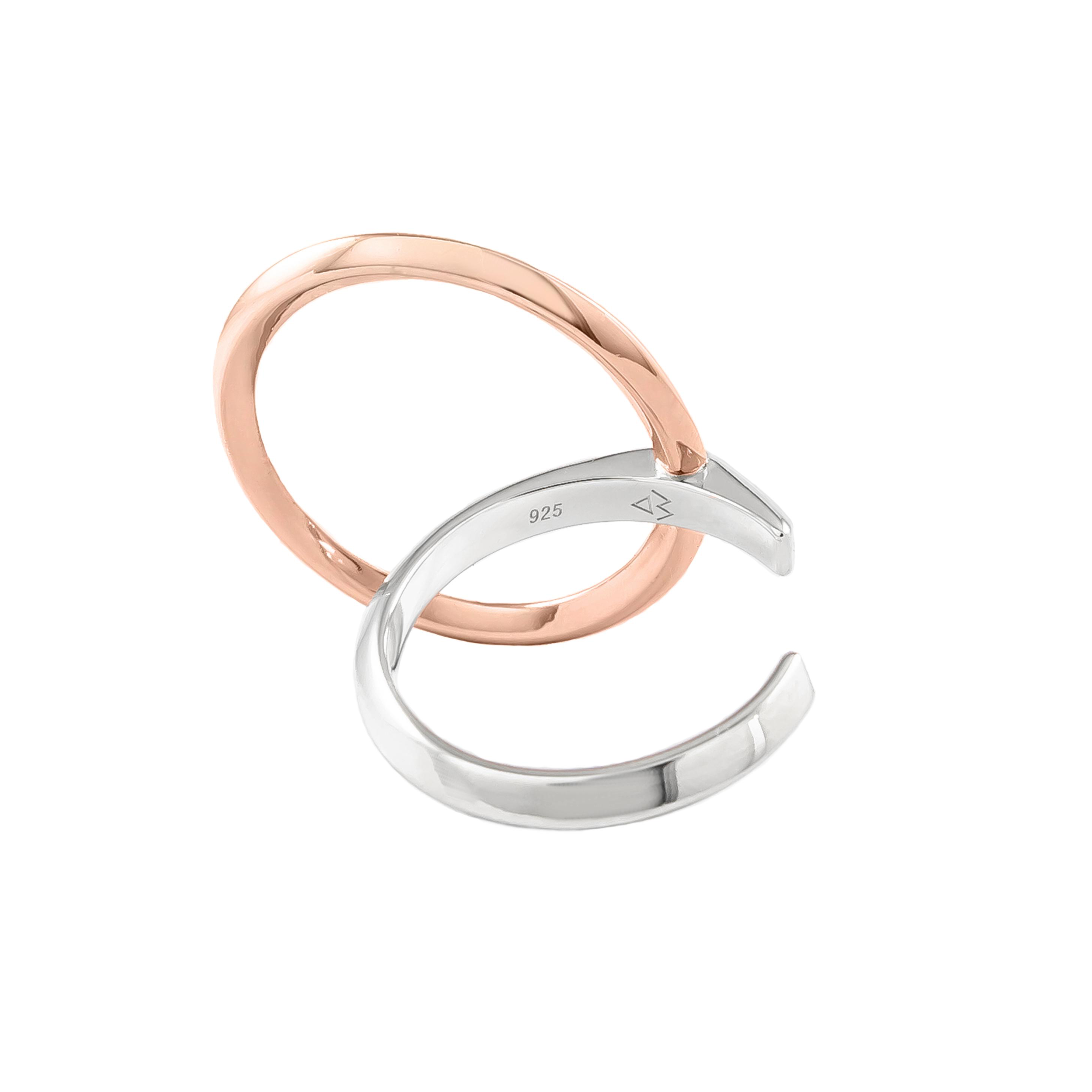 Lyra Two-Tone Ring (Large)