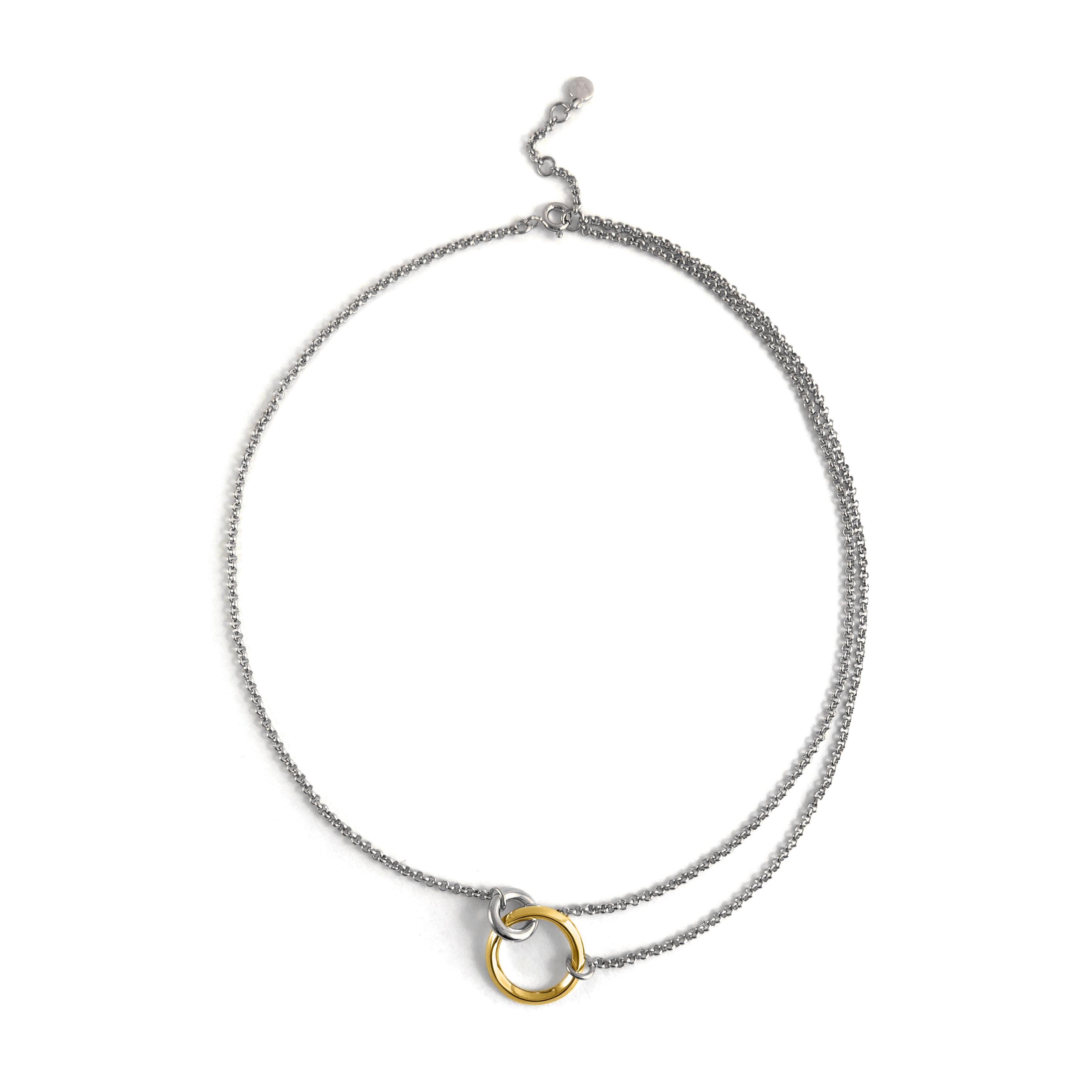 Lyre Necklace